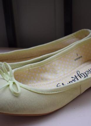 Замшевые туфли лодочки р.5 на р.38 24,5 см m&s