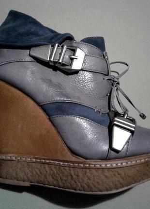Стильные ботинки asos , кожа