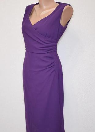 Платье alexon благородного фиолетового цвета, размер s-m