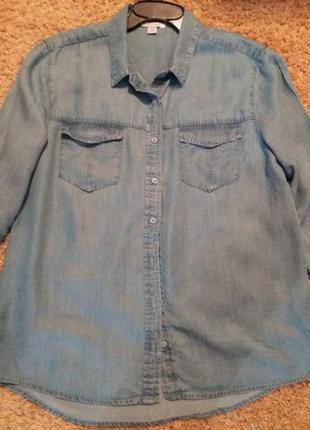 Актуальная лиоцеловая рубаха amisu для пышной дамы.