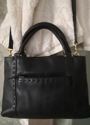 Стильная кожаная сумочка john lewis