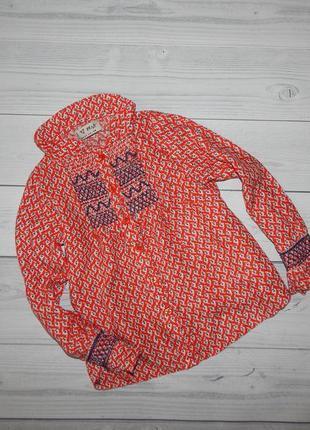 Клевая модная блузочка next  рубашки
