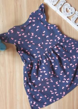 Фирменное платье primark малышке 2-3 года состояние отличное