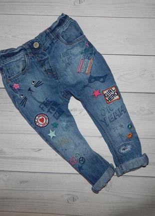 Клевые джинсы на девочку  next джинсы брюки