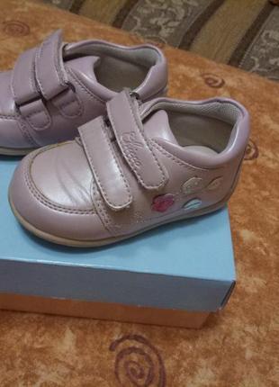 Кроссовки туфли ботинки chicco натуральная кожа на девочку 21 размер
