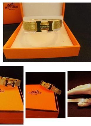 Браслет металический золотой ремешок пояс бижутерия украшение на руку италия 🇮🇹