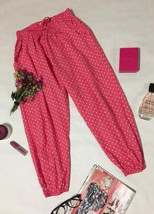 Пижамные штаны капры в горошек secret possessions
