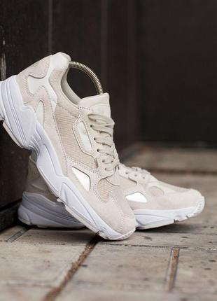 Шикарные женские кроссовки adidas yung-96 white 😍 (весна/ лето/ осень)