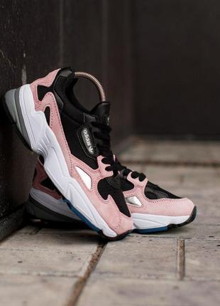 Шикарные женские кроссовки  adidas yung-96 pink 😍 (весна/ лето/ осень)