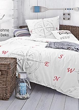 Постельное белье мако-сатин 155х200 dormia комплект германия