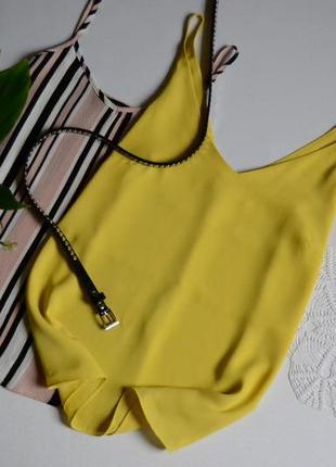 Блуза маєчка лимонного кольору papaya