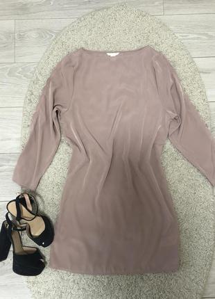 Продам платье hm, платье цвет пыльная роза.