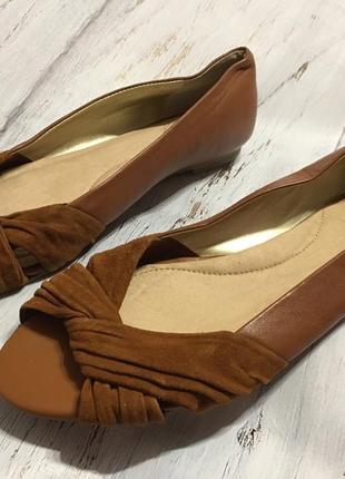 Кожаные туфли land send р 38
