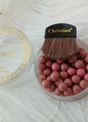 Румяна шариковые christian