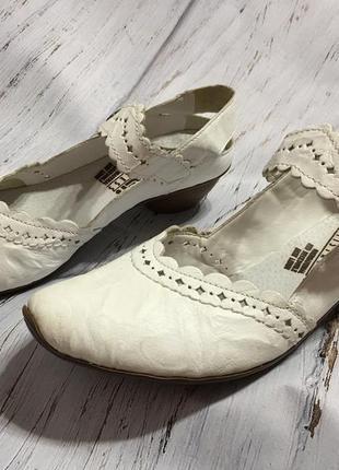 Кожаные туфли rieker р 36 германия