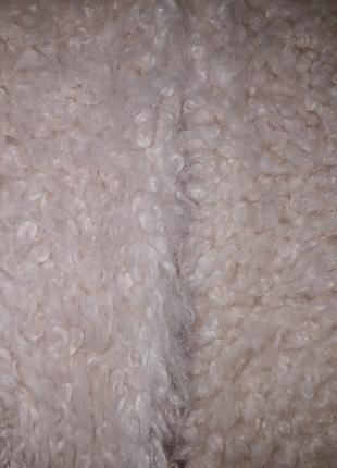 Модная молодежная деми искусственная шуба  курточка  эко мех искусственный3 фото