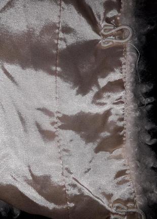 Модная молодежная деми искусственная шуба  курточка  эко мех искусственный5 фото