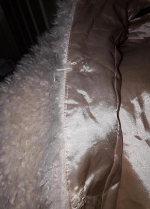 Модная молодежная деми искусственная шуба  курточка  эко мех искусственный6 фото