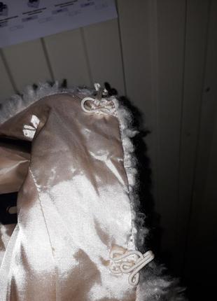 Модная молодежная деми искусственная шуба  курточка  эко мех искусственный7 фото