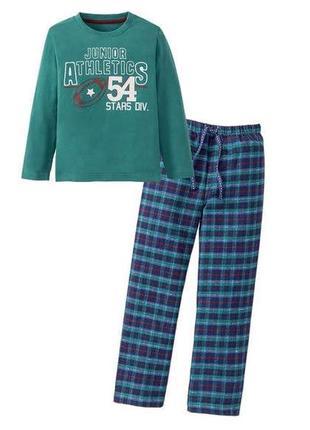 Пижамка lupilu с байновыми штанами на мальчика 98-104