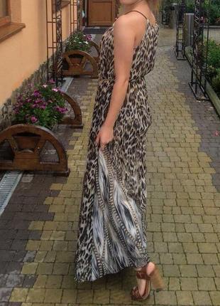 Красиве довге плаття