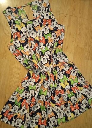 Летний сарафан платье микки