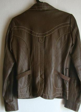 Куртка натуральная кожа кожаная2 фото