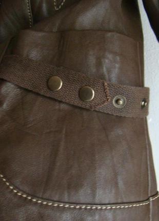 Куртка натуральная кожа кожаная6 фото
