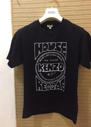 Брендовая мужская футболка kenzo {оригинал}