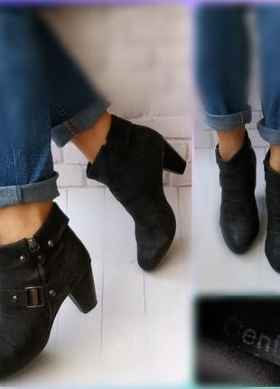 38р удобные ботинки centro,эко-замша1 фото