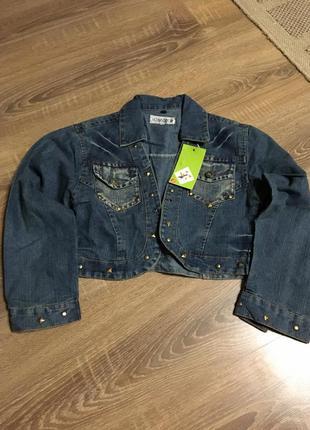 Джинсовый пиджак 150 см