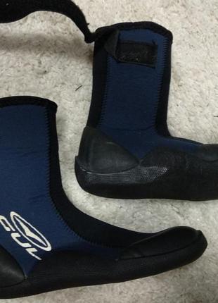 Детские gul гидроботы 34-35 неопрен дайвинг спорт ботинки