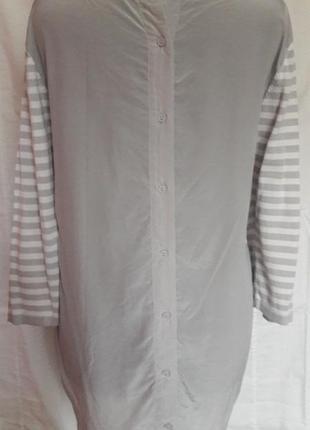 Оригинальная шелковая блуза cos4 фото