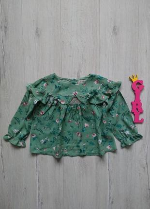 2-3 года, блуза next.