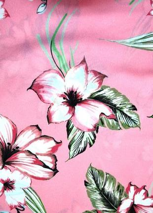 Marks & spencer. блуза топ в цветы. 12-й. м-ка3