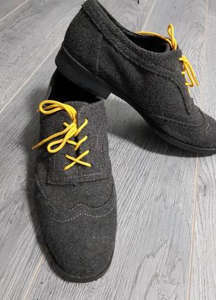 Туфли войлочные
