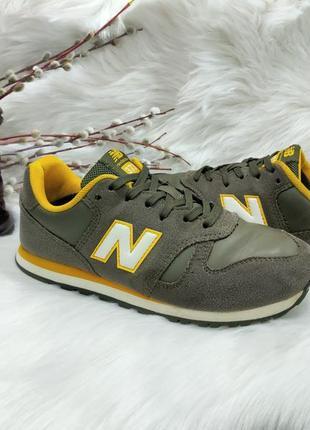 Классные замшевые кроссовки new balance 373 ( 34 размер )