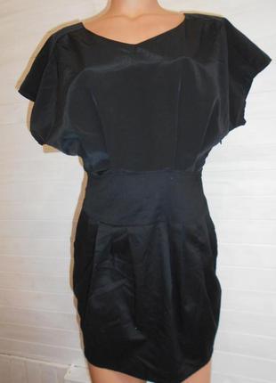Платье коктейльное ,-верх более пышный,чем низ