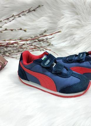 Классные кроссовки puma rio speed ( 24 размер )
