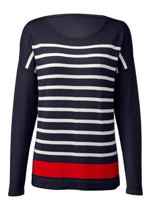 Up2fashion, германия,женский тонкий свитер в полоску,джемпер,пуловер