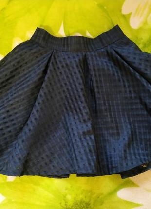 Школьная юбка на 6-7 лет.