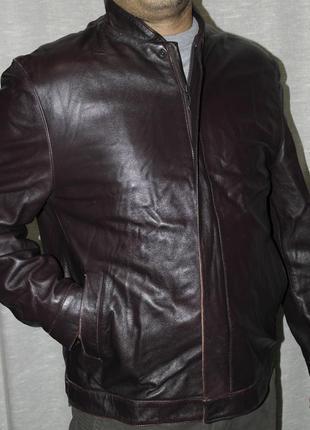Oakleaf кожа куртка мужская 50 англия