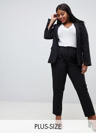 Стильные брюки сигареты plus size