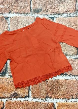 Яркая блузочка на девочку 10 лет