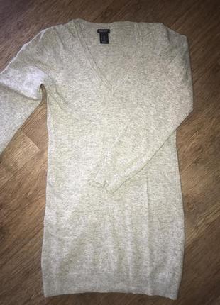 Италия! люкс бренд! базовый 100% шерстяной свитер gant.
