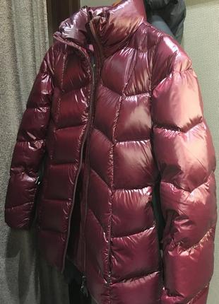 Пуховая куртка massimo dutti