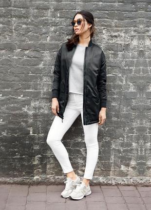 Куртка бомбер пуховик new balance 247 luxe mai flight jacket-оригинал