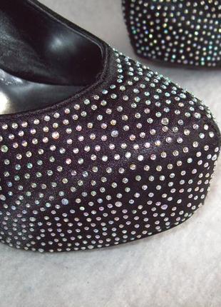 Туфли стразы шпилька3 фото