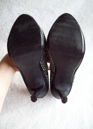 Туфли стразы шпилька9 фото