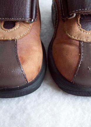 Туфли ботинки кожа7